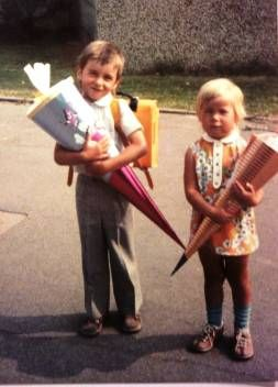 first day at school (1. Schultag)