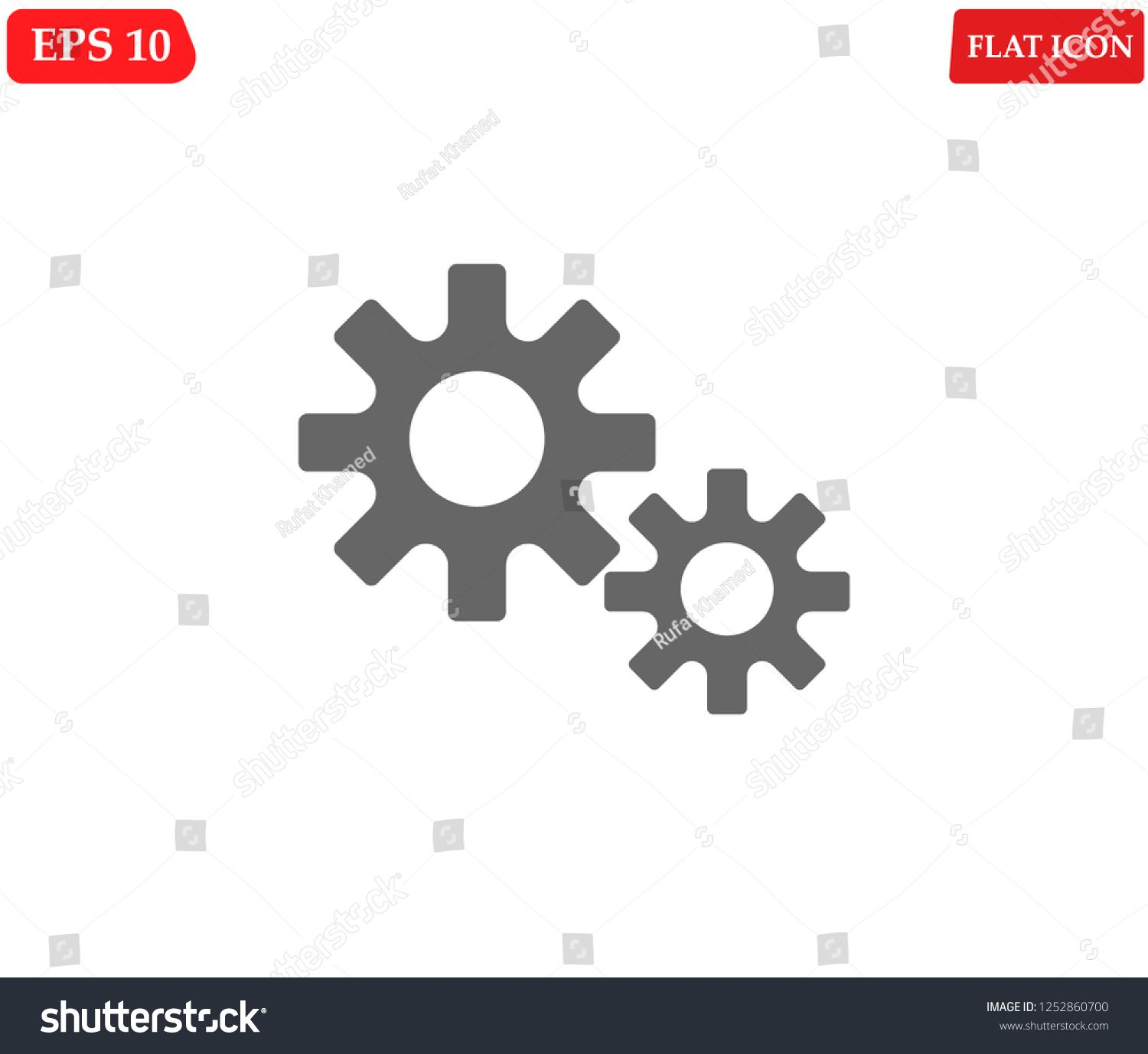 Settings icon vector  Gear icon symbol icon#Settings#vector#symbol
