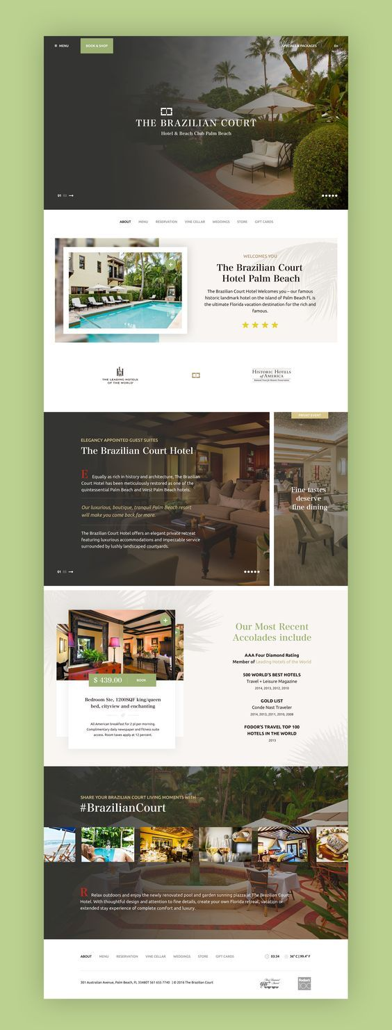 Our Daily Website Design Inspiration Article For Our Regular Readers To Download Every Day We A Hotel Website Design Website Design Inspiration Psd Web Design
