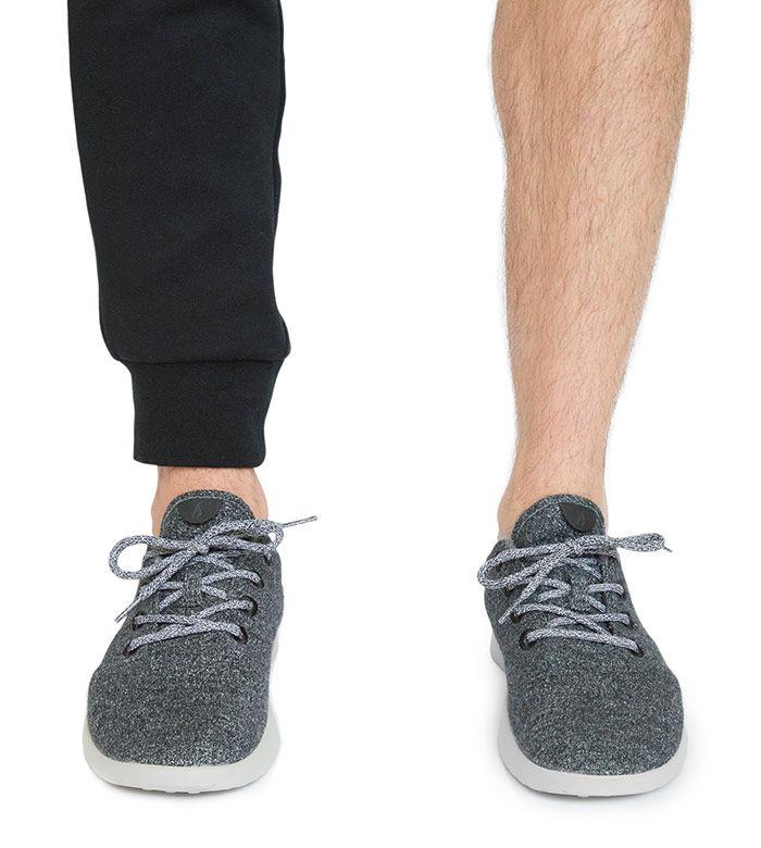 Men's Wool Runners - Natural Grey