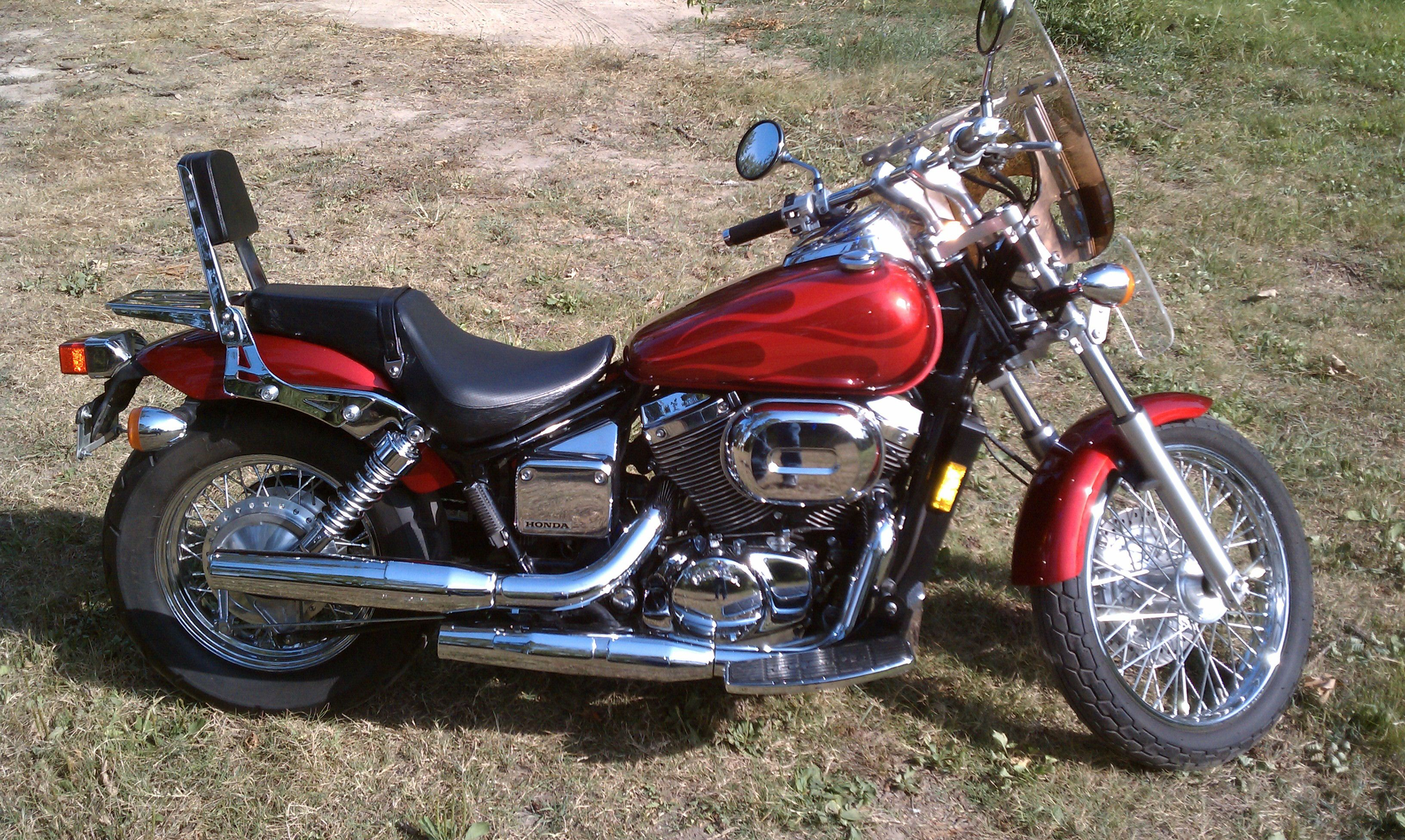 Pin by Ronald Franklin on My Rides - Past & Present | Honda shadow