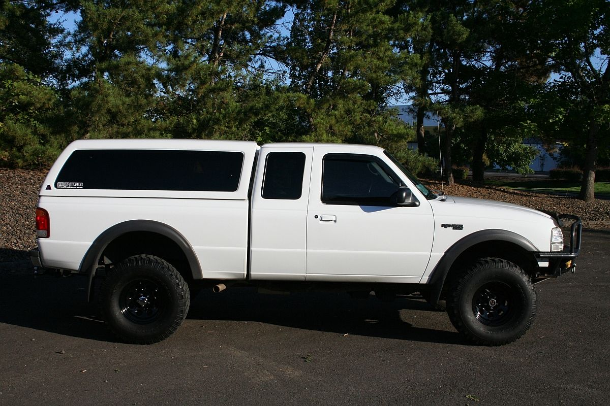 Ford Ranger 4x4 With Camper Shell Google Search Canopy