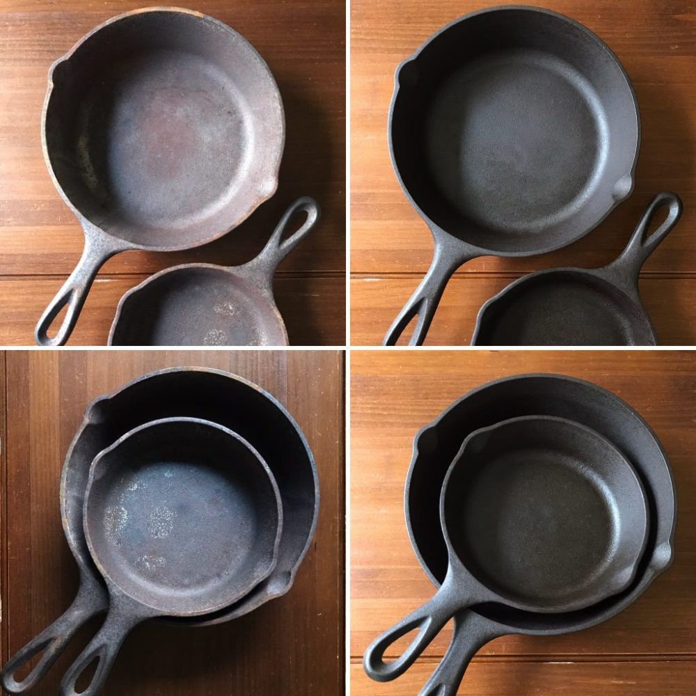 How To Maintain And Revive Cast Iron Pans In 2020 It Cast Cast Iron Cast Iron Cleaning