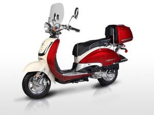 Electric And Gas Scooters Scooter Classic Vespa Gas Scooter
