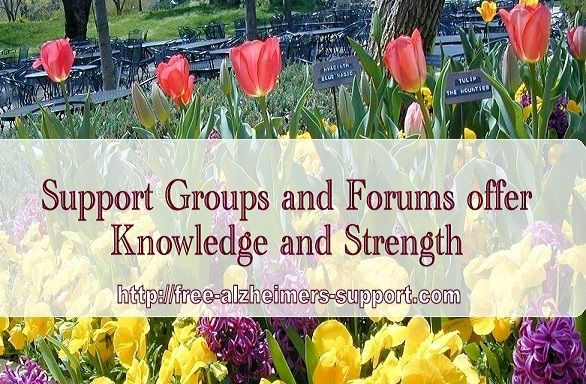 FREE ONLINE ALZHEIMER'S SUPPORT - Support Groups and Forums offer Help