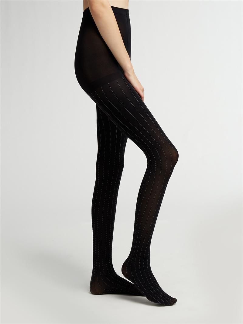 9ea6afa23af09 DKNY Pinstripe Texture Stocking. #dkny # | Dkny | Online clothing ...