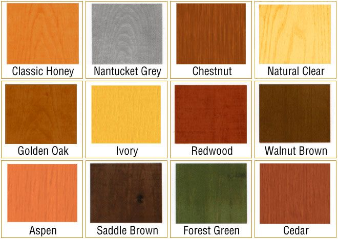 Love The Natural Clear Yellow Classic Honey Orange Redwood Red Walnut Brown Brown Fores Outdoor Wood Stain Staining Wood Exterior Wood Stain Colors