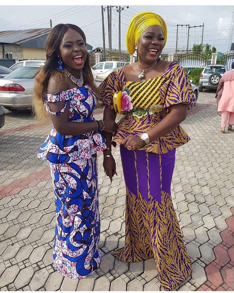 There are quite a few ways to make oneself beautiful with an  latest asoebi styles, Even if you are reasoning on what to make and slay with an Nigerian Yoruba dress styles. Nigerian Yoruba dress styles for parties arrive in a variety of patterns and designs.   The African print styles beauty of this print is that it comes in many designs and textures. Ankara will permit you make a harmonize of any cloth without losing the  African Ankara dresses  flair. #nigeriandressstyles