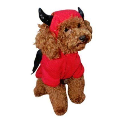 Devil Bat Dog Costume