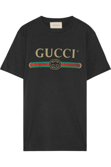 0135442a52c67 Gucci s coveted T-shirt made its debut on the label s Resort  17 runway and  has quickly achieved cult status. Cut for an oversized fit