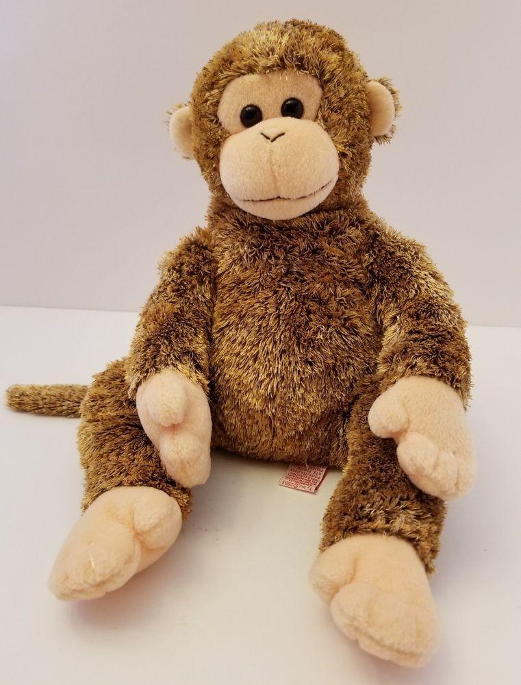 Bonsai The Beanie Buddies Collection Plush Monkey 15