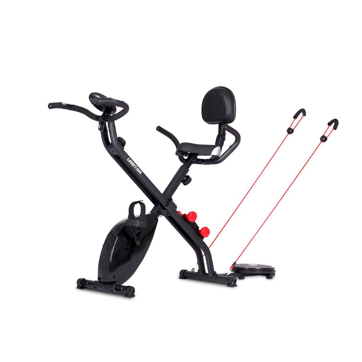 URSTAR 2-in-1 / 4-in-1 Folding Upright Exercise Gym Bike / Abs ...