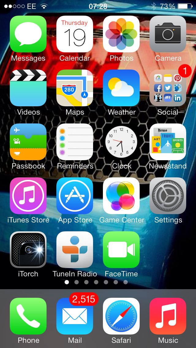 I updated my phone to ios7 in the night it looks & works fantastic!:0)