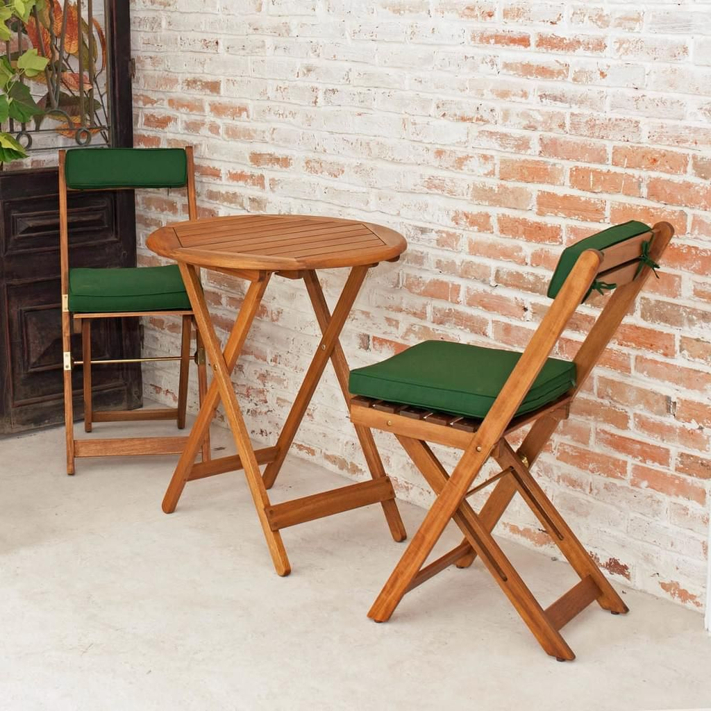 Balkonset Tisch Mit 2 Stuhlen Klappbar Bali 0 Real Stuhle