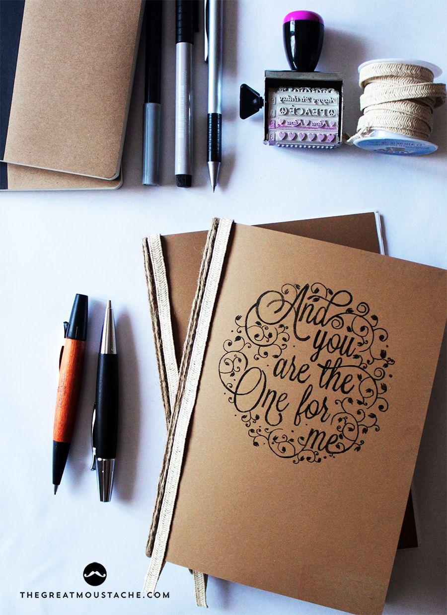 Diy personaliza tus propios cuadernos - Como decorar cuadernos ...