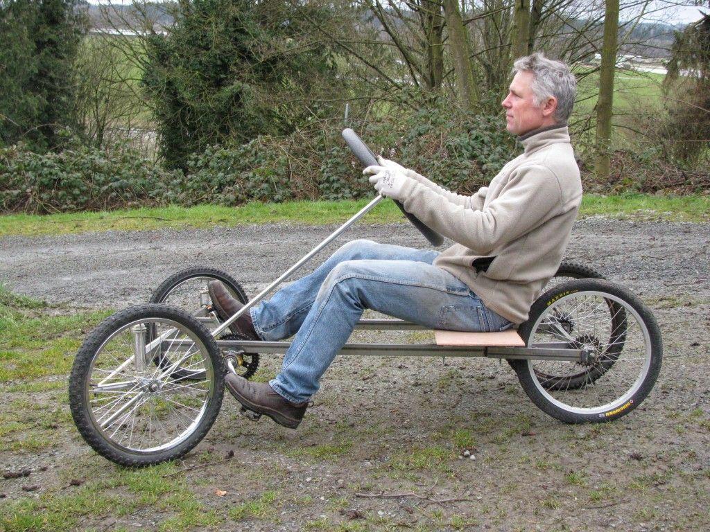 Diy wood pedal car