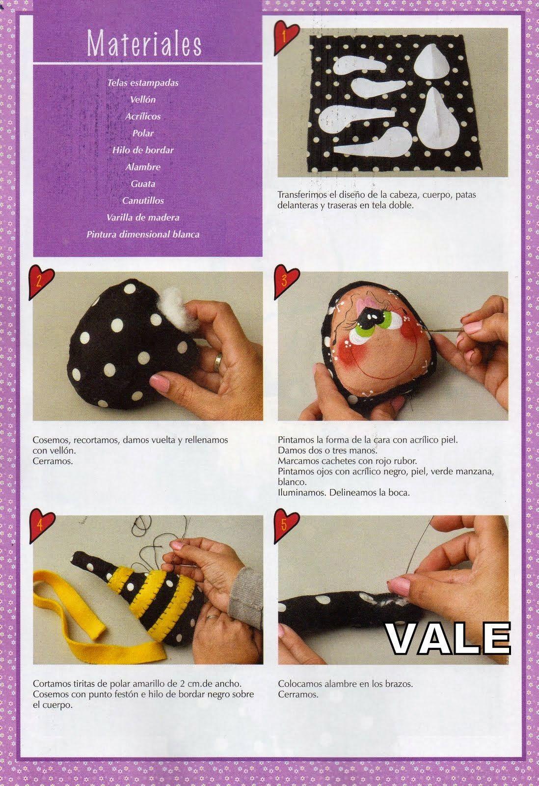 como hacer una bailarina de tela | muñecos | Pinterest | Doll toys ...