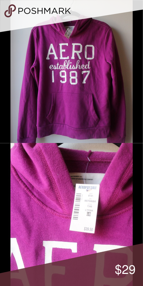 d258cb901e NWT! Aeropostale Sweatshirt - L Bought this for the gorgeous color. Such a  pretty orchid color. Flattering fit. Tops Sweatshirts   Hoodies