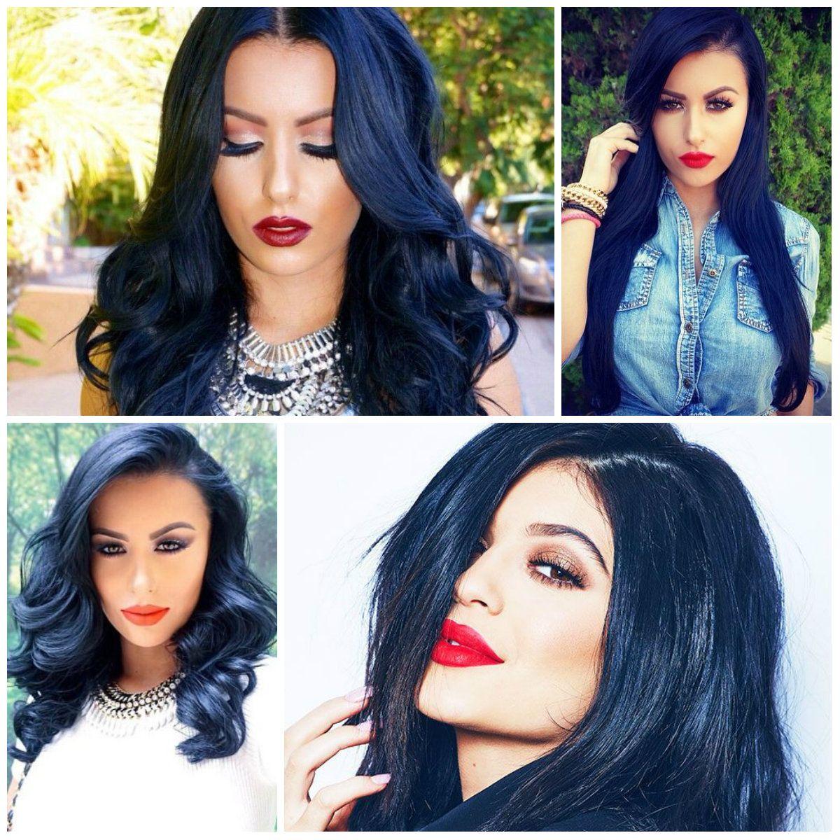 Blue and black hair 2017