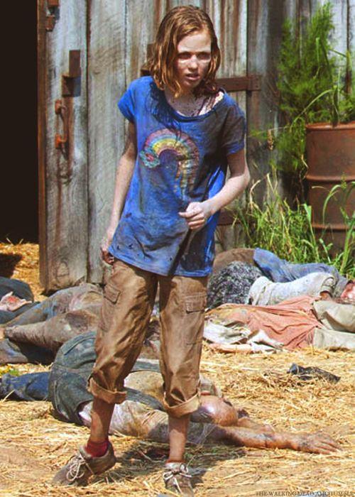 Sophia Peletier   The Walking Dead   Walking dead funny ...