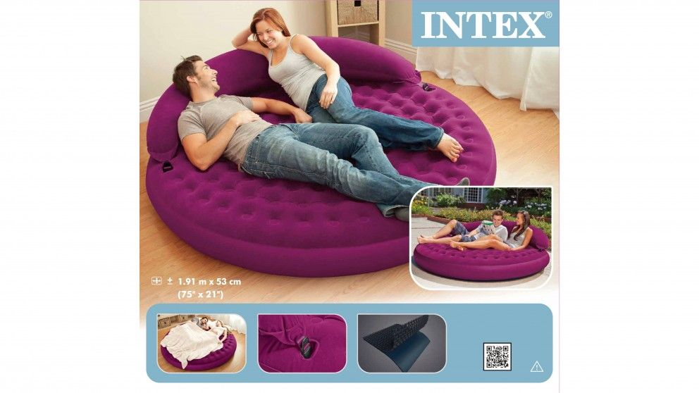 Intex Ultra Inflatable Daybed Lounge Furniture Harvey Norman