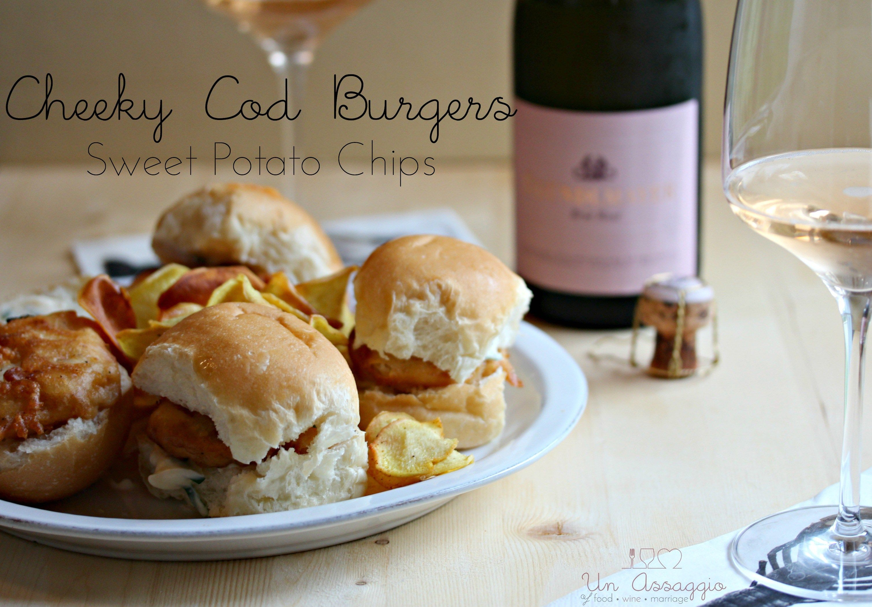 Cheeky cod burger ros wine pairing un assaggio of food wine cheeky cod burger ros wine pairing un assaggio of food wine marriage forumfinder Gallery