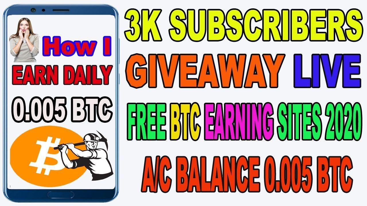 earn daily btc