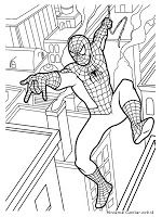 Gambar Mewarnai Spiderman Coloring Pages Pinterest Coloring