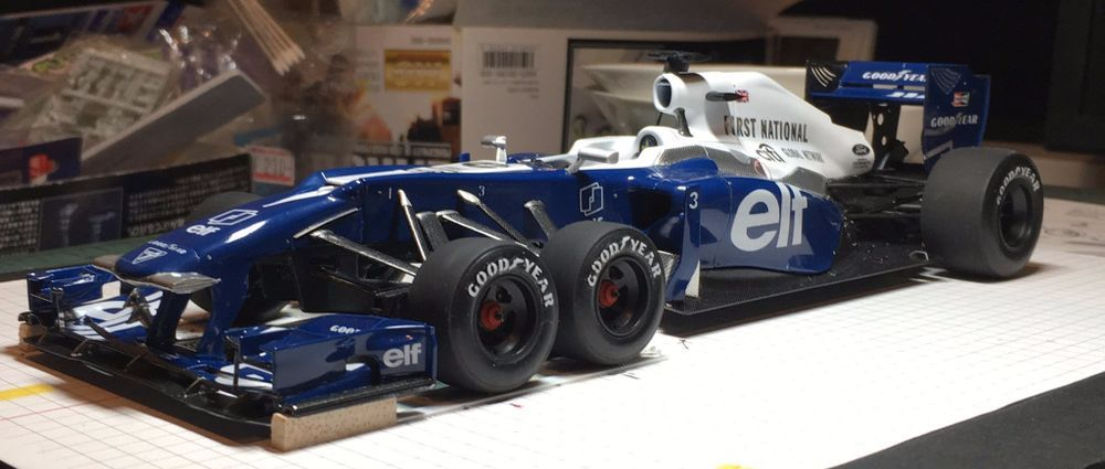 This Custom Model Of A Modern Tyrrell P34 Is Absolutely Amazing Futuristic Cars Design Grand Prix Cars Mclaren Cars