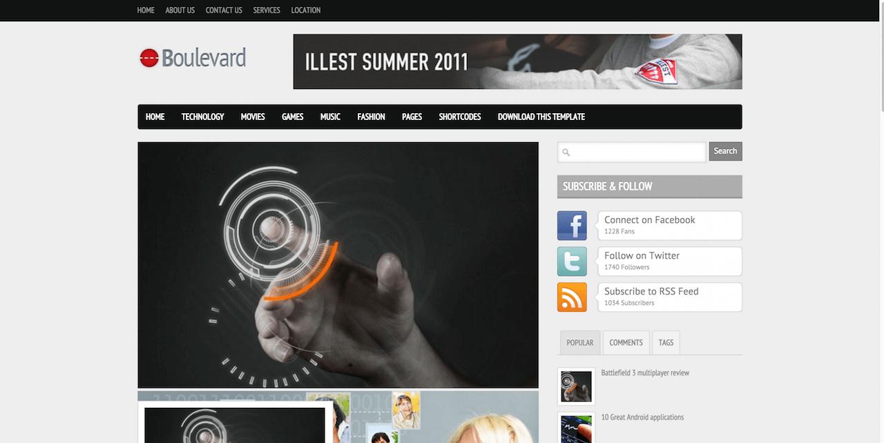 Ziemlich Kostenlose Vorlage Blogger 2014 Galerie - Beispiel ...