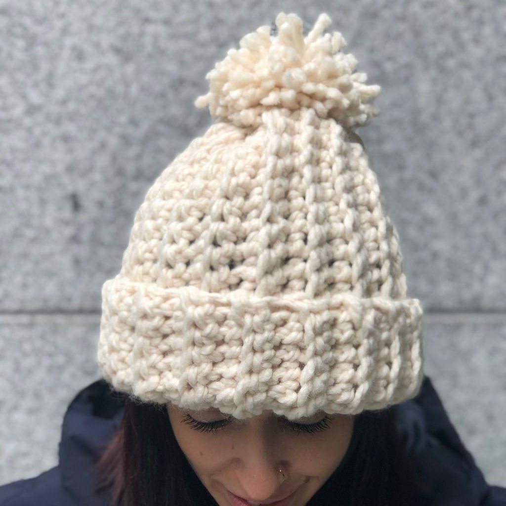 Lion Brand® Wool-Ease® Thick & Quick® Gold Medal Crochet Hat | Lion ...