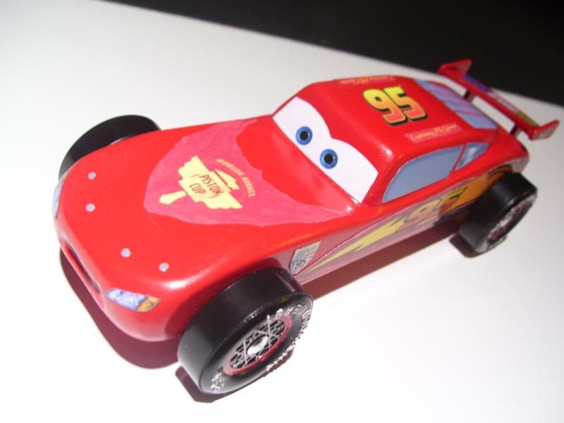 PreLittle Red WagonPre Pinewood Derby SupSup Car Photo