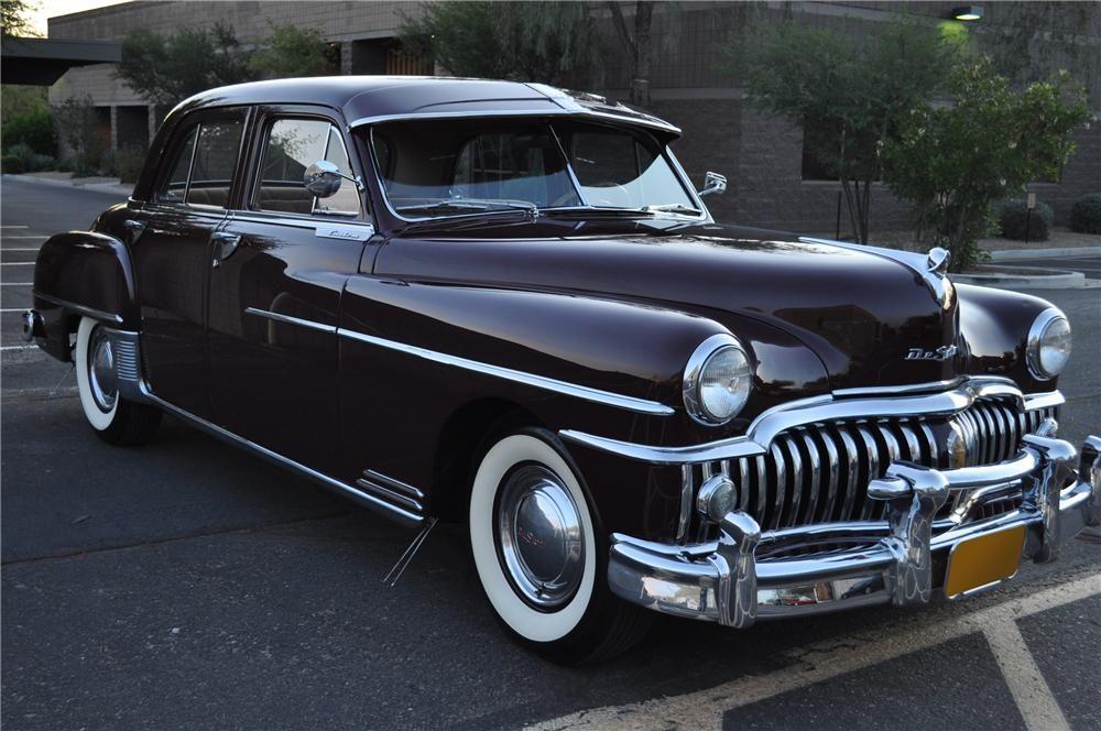 1950 DESOTO CUSTOM SEDAN Dad had a light blue \'50 or \'51 semi ...