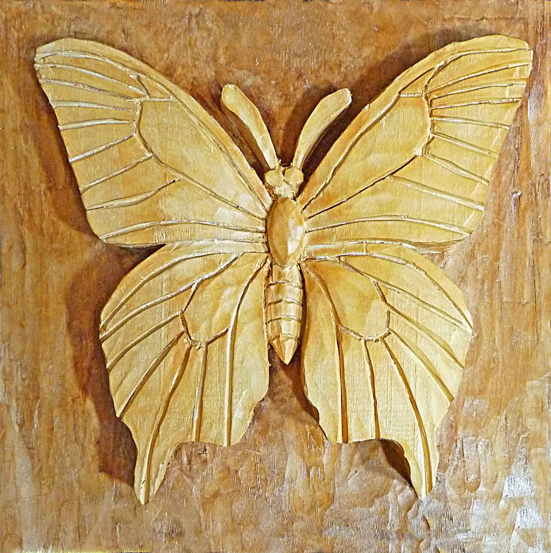 Intarsia Butterfly Cedar Wall Plaque | Ahşap | Pinterest | Cedar ...