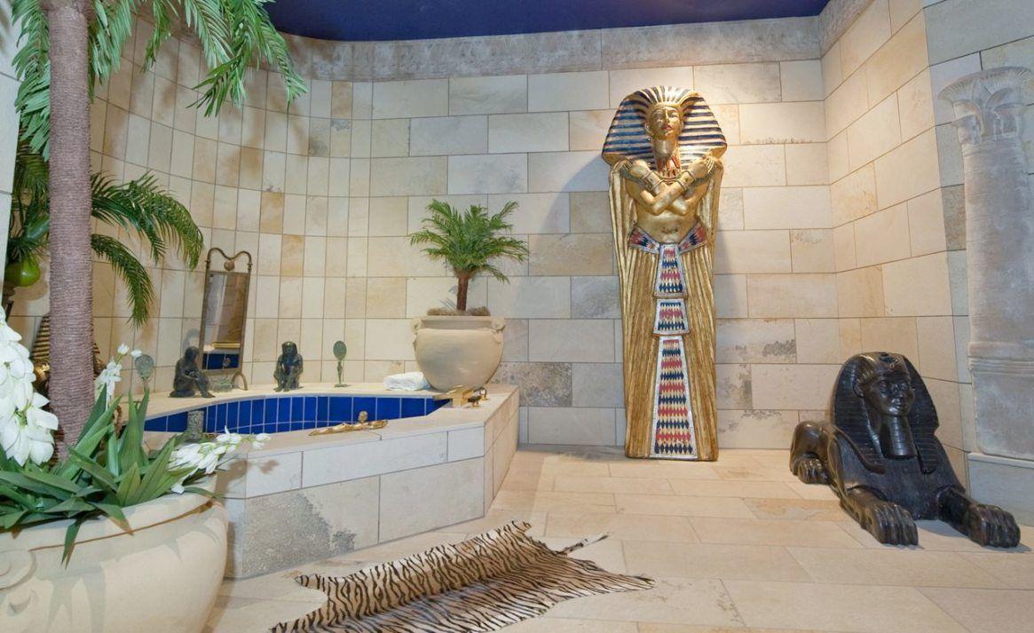 Egyptian Bathroom Decor Decoracao