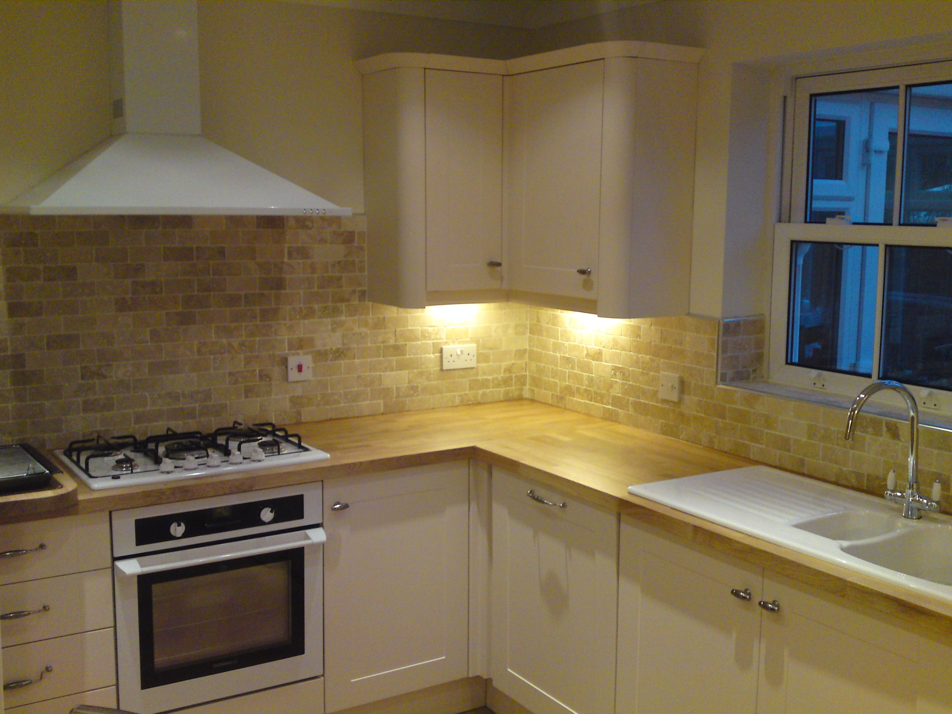 Burford Cream Kitchen With White Appliances Part 97