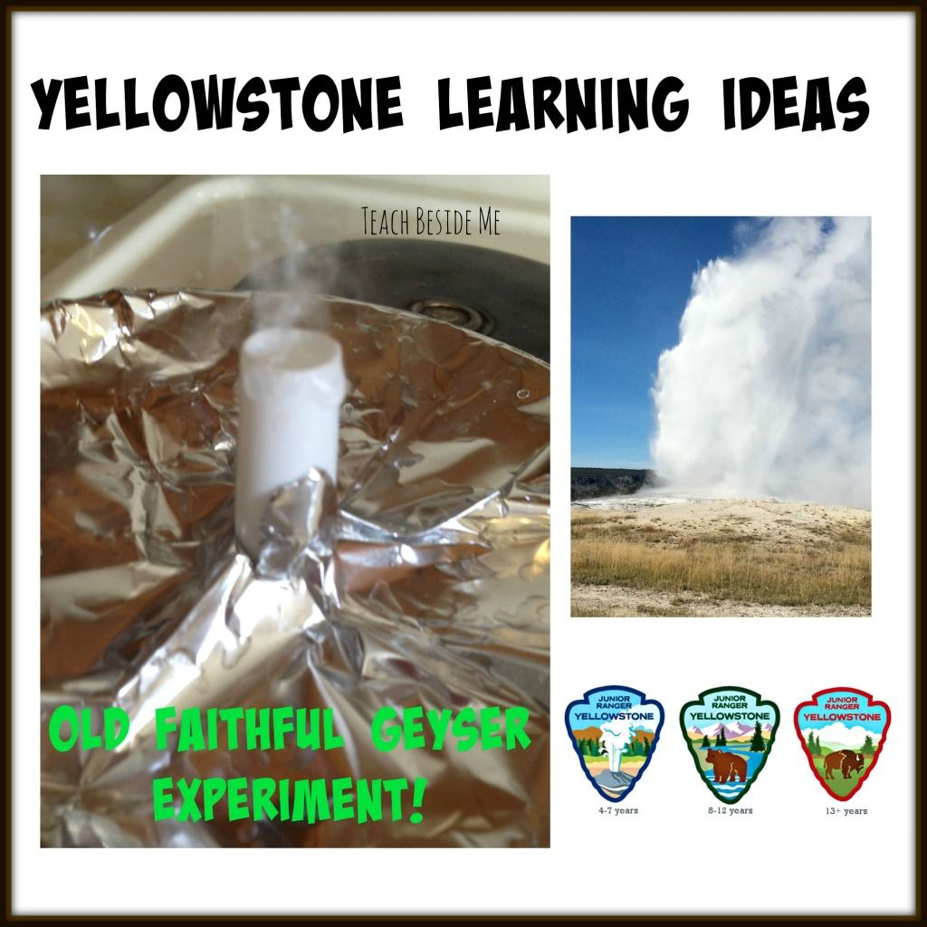 Yellowstone Learning Old Faithful Geyser Experiment