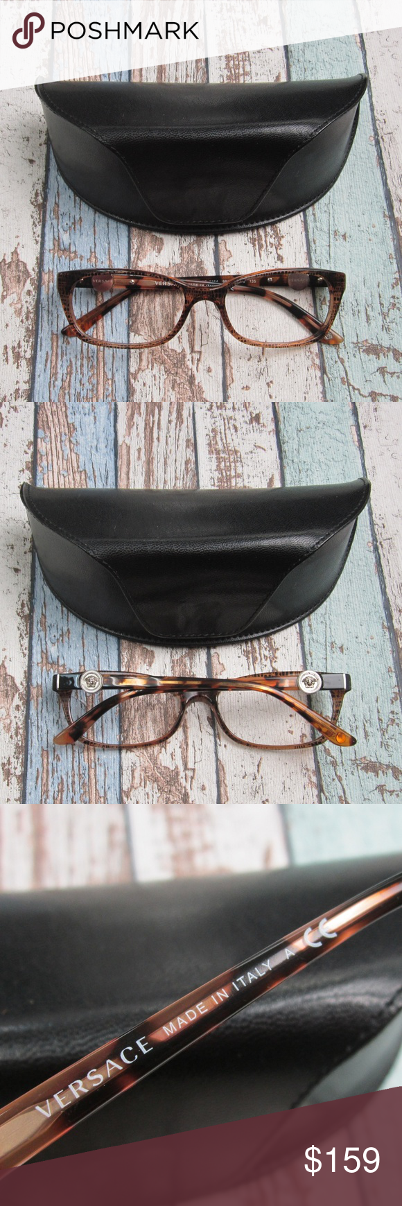 7fcd8a4f375e Versace MOD 3164 991 Eyeglasses /Italy/OLP257 Made in: Italy Versace Medusa  Lens