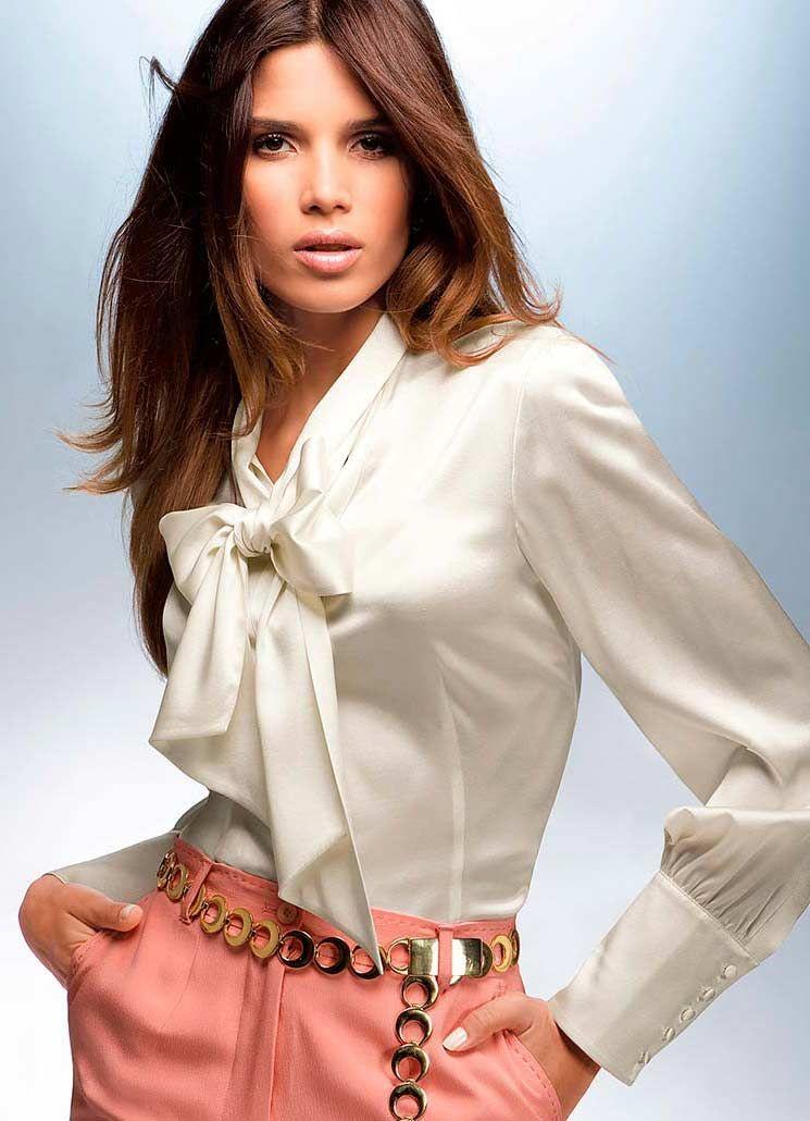 fd4c11e62c0 Модели блузок (176 фото)  с длинным рукавом