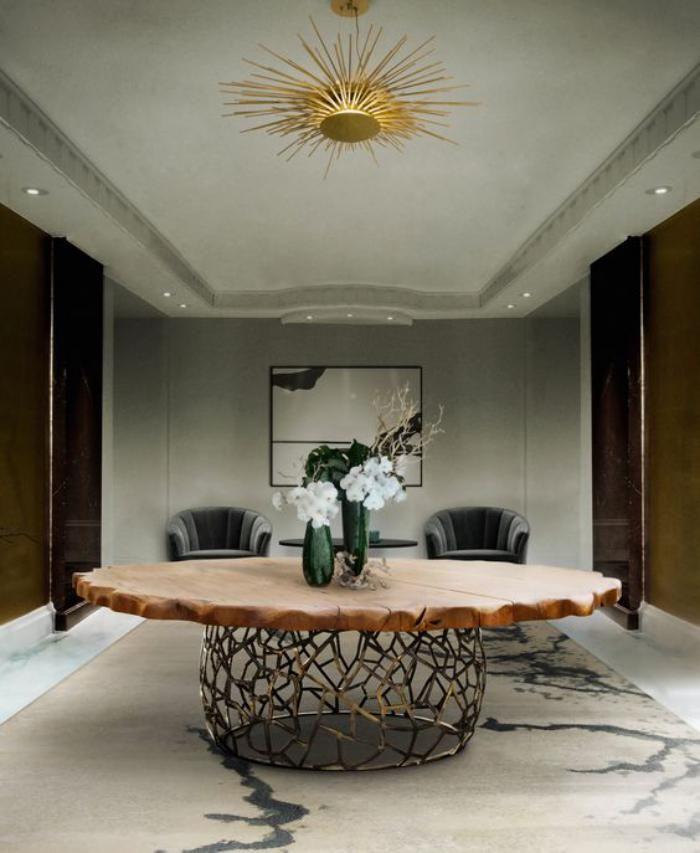 La table de salle à manger en 68 variantes | Table ronde design ...