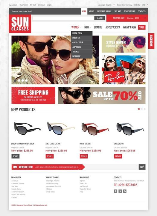 Hello there Start free trial Google Apps for Work https://goo.gl/BHSHKd - PROMOCODE 20%OFF 1 YEAR LCQRD6GHRWPKDFQ   De Luxe Sunglasses Magento Theme CLICK HERE! live demo  http://cattemplate.com/template/?go=2ewblHy