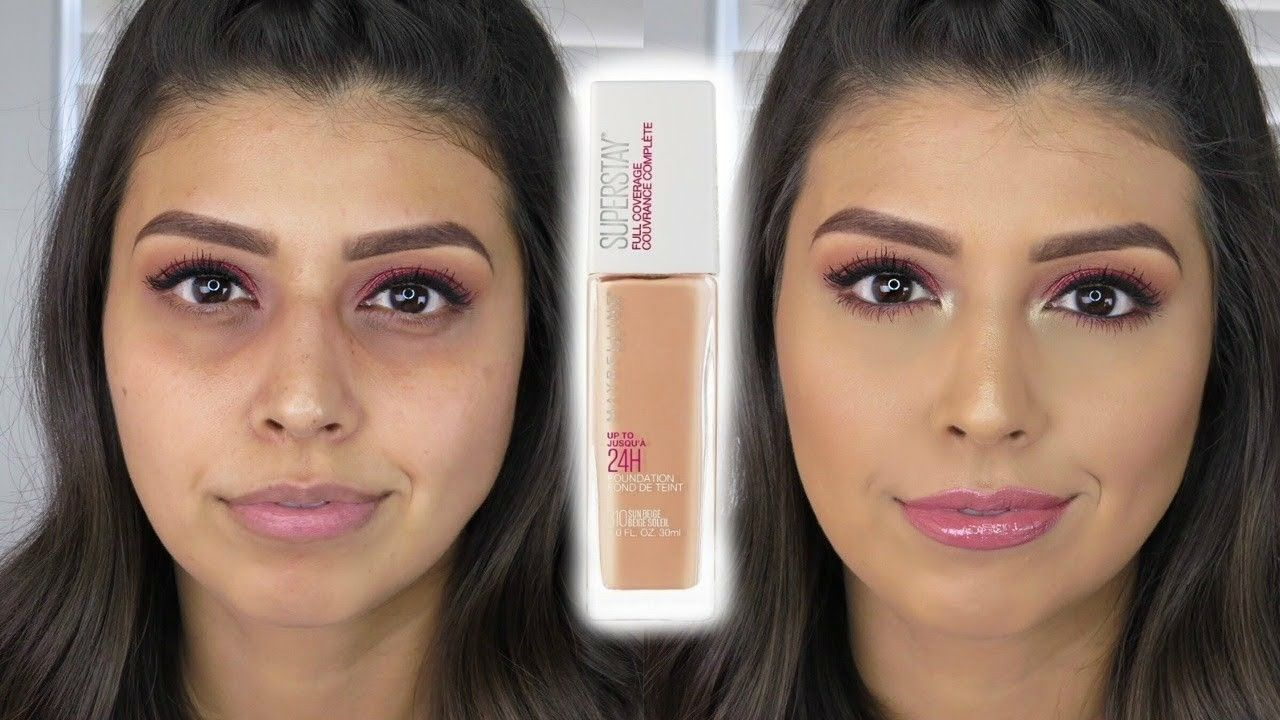 Maybelline Super Stay Full Coverage Foundation Full Coverage Foundation Maybelline Super Stay Maybelline Superstay Foundation