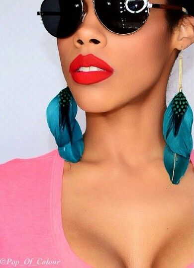 "#coloredraine matte lip paint in ""Vanity"""
