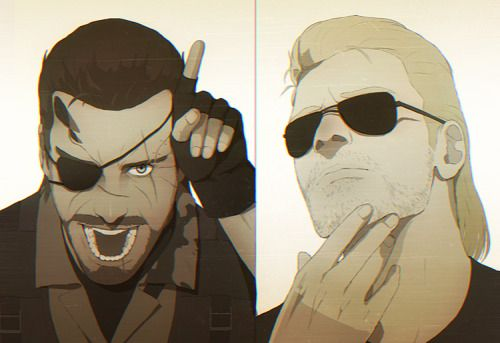 kaz and ocelot - Google Search