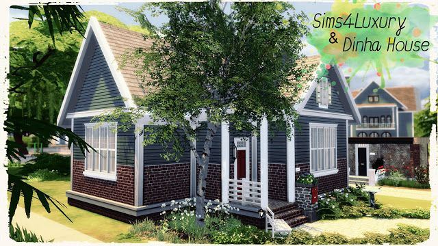 Sims 4 Houses And Lots Small Suburban House Sims 4 Houses Suburban House Sims House