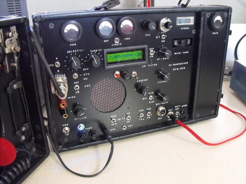 VK3ZZ Homebrew 80M-40m AM SSB CW transceiver    Ham Radio