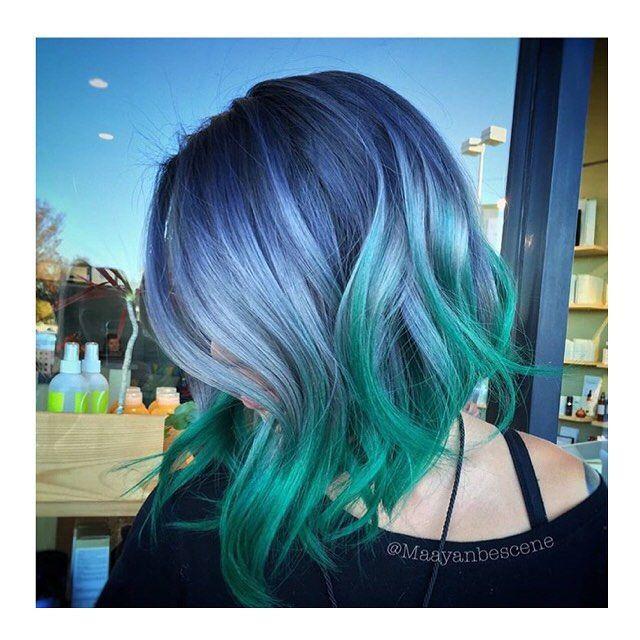 Thefreshestnailart On Instagram Major Hairgoals Hair Styles Bob Hair Color Bright Hair