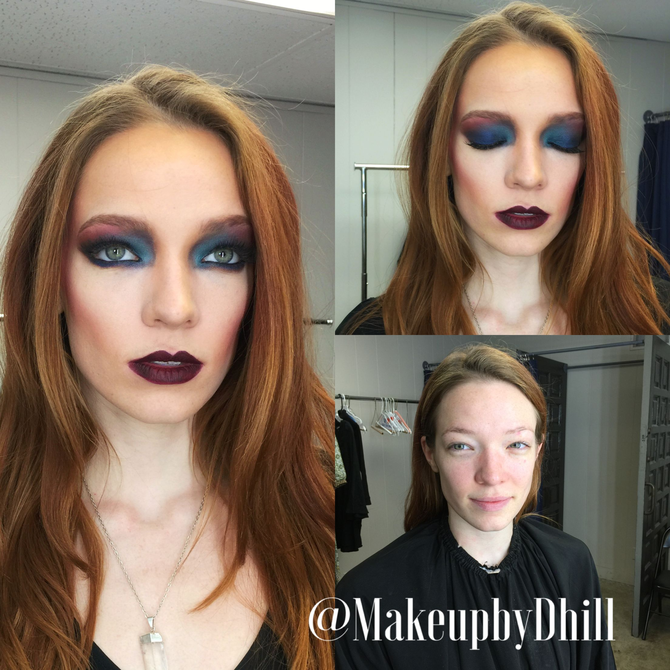 Makeup By D. Hill before and afters pics