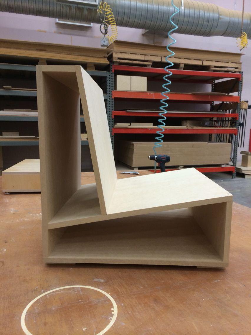 Amazing Diy Pierre Thibault Plywood Chair Mock Up