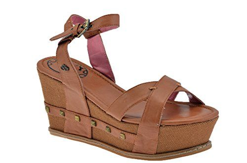 free shipping 082ab 314c3 Fornarina Wedge 90 Studs Sandals New Size 75 Lad *** You can ...